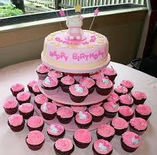 Hello Kitty Birthday Cakes Also Hello Kitty Birthday Cupcakes Also