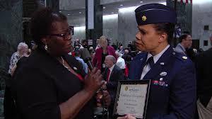 Senator Persaud speaks with her Veterans' Hall of Fame Nominee Major  Marlene Dietrich Heath - YouTube
