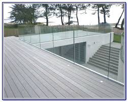 glass deck railing system awesome systems home ideas 40