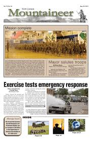 August 29 2014 Fort Carson Mountaineer