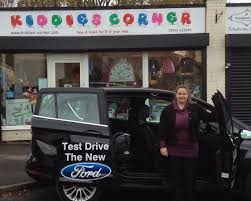 lorna mellish from kids corner in oakengates praises the ford b max from furrows