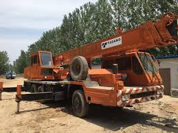 Tadano Tl 250 E Truck Crane Used Japan Original 25 Ton