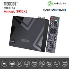 <b>Mecool K5</b> Android Box <b>DVB</b> S2 <b>DVB</b> T2 Amlogic S905X3 Android ...