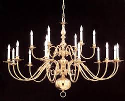crystorama 18 light polished brass chandelier