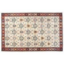 wool kilim rug vintage floor west elm torres