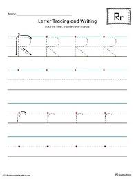 Letter Tracing Templates Letter R Traceable Worksheets Securityproject Club