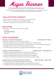 Best Engineering Resume Examples 2018 That Land You A Job Inside