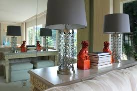 hollywood regency style furniture. Hollywood Style Furniture Regency Foo Dogs And Column Lamps Traditional Living Room