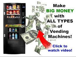 How Much Money Does A Vending Machine Make Mesmerizing Vending Machine Business Startup YouTube