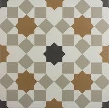 Marrakech Sierra Copper Pattern Floor Tile - Floor Tiles from Tile Mountain