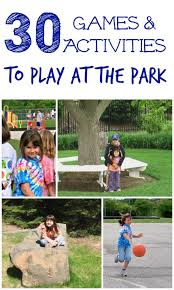 fun kids games to play at the park