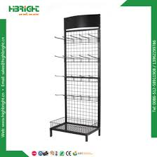 Display Stand Hs Code China Single Side Wire Mesh Display Rack Store Display Stand 43