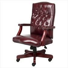 classic office chairs. Classic Office Chairs. Chairs » Comfy Executive Oxblood Vinyl Chair With Mahogany Finish