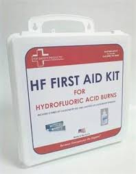 Hf First Aid Kit W Calgonate Products Fast Ship Best Prices