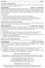 The Best Way To Write Network Engineer Resume Examples Visit To Reads