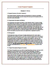 Proposal Templates Free Grant Proposal Template Download Create Edit Fill And Print