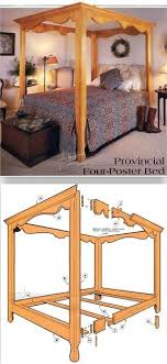 4 poster bed plans. Perfect Bed Four Poster Bed Plans  Furniture And Projects And 4