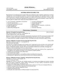 Resume Objective For A Nurse