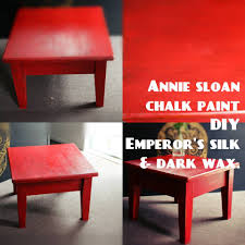 painted red furniture. Annie Sloan Chalk Paint Emperors Silk W Clear+dark Wax. Full Tutorial - YouTube Painted Red Furniture N