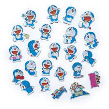 Bộ 20 Sticker Doraemon Tặng Thêm 3 Hình Nhóm Bạn Nobita Shizuka Suneo Gian  Hình Dán
