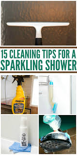 showers can be sparkly clean especially if you try some of these diy tips