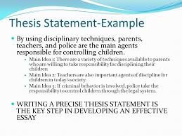 thesis statement examples ppt video online  2 thesis statement example