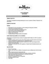letter to ask ground permission   resume job description pharmacy    resume job description for a bartender