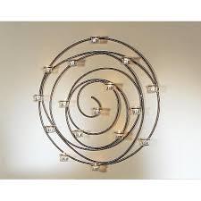 wall spiral candleholder