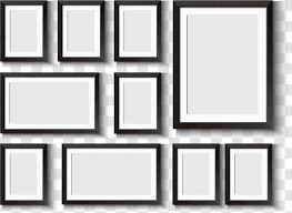 window picture frame wall decal