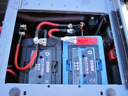 fitting two batteries in 90 battery box defender forum lr4x4 1633 jpg