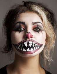 clown makeup scary
