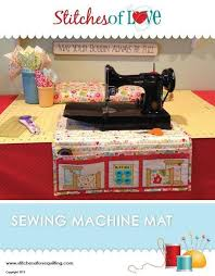Vintage Sewing Machine Quilt Patterns & Sewing Machine Mat Pattern Adamdwight.com