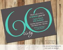 60 birthday invitations 17 best 60th birthday invitation ideas images on pinterest