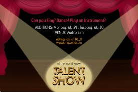 Talent Show Flyer Design Talent Show Flyer Template Postermywall