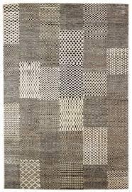 modern carpet pattern. Rugs Modern Geometric Pattern Ivory And White Wool Carpet