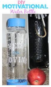 Diy Water Bottle Diy Motivational Water Bottle Rattles Heels