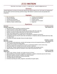Example Of Bartender Resume EyeGrabbing Bartender Resumes Samples LiveCareer 16