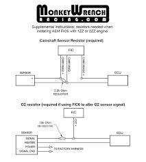 aem f ic 6 fic universal piggyback fuel and ignition controller Subaru Stereo Wiring Harness Diagram Aem Ems 4 Wiring Diagram #43