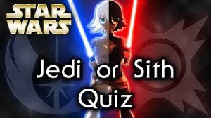 Dark Side Or Light Side Star Wars Quiz Find Out Your Side Jedi Or Sith Star Wars Quiz