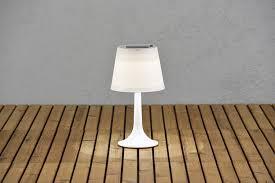 Tafellamp Buiten Zonne Energie Op Mozaïek Buitenzonnetafellamp
