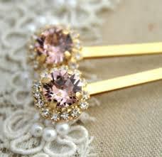 vine pink blush light peach bridal