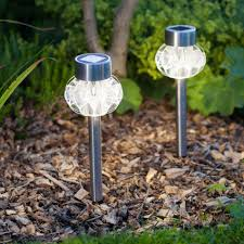 Solar Stake Lights Outdoor  10 Ways To Shine Through The Night Solar Landscape Lighting Stakes