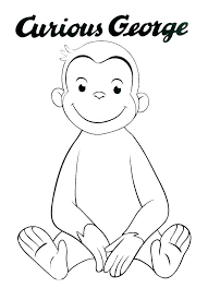 curious george coloring sheets book