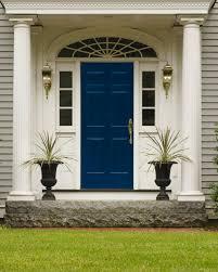 Curb Appeal Modern Doors Remarkable Navy Front Door Navy Blue Doors ...