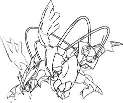 Kyurem Pokemon Disegno Da Colorare Gratis Disegni Da Colorare E