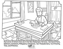 Small Picture Pauls Letters Coloring Page Whats in the Bible