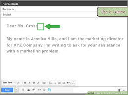 How To Start A Formal Email 14 Steps With Pictures Wikihow
