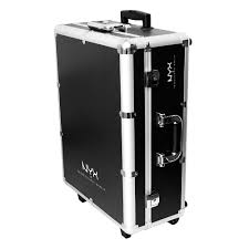 nyx professional makeup x large makeup artist train case with lights walmart