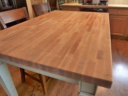 French Country Kitchen Table Kitchen Butcher Block Kitchen Table With Catskill Craftsmen