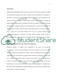 managing and leading people across cultural borders essay managing and leading people across cultural borders essay example